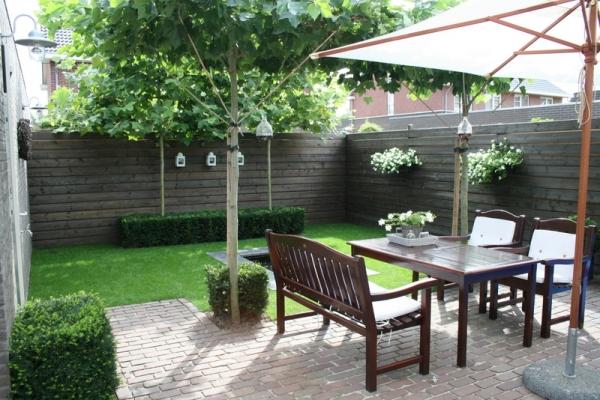 gallery of kleine tuin ontwerpen voorbeelden. Black Bedroom Furniture Sets. Home Design Ideas